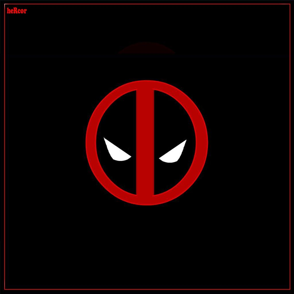 Download · Deadpool logo 1024 hc,1024x1024,free,hot,mobile phone wallpapers ,www