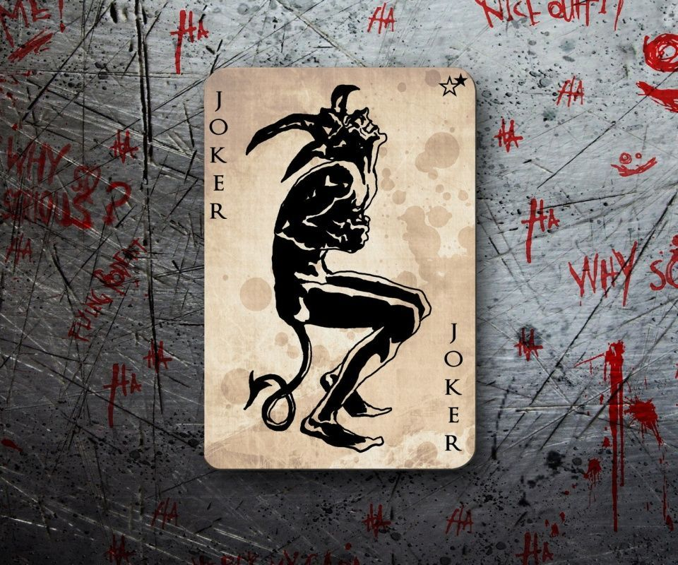 joker cartoon card wallpaper - photo #16
